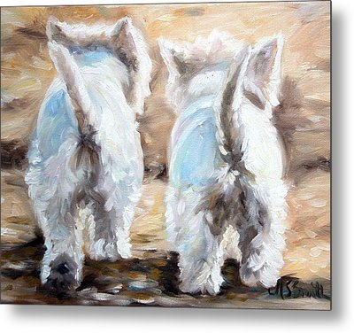 Farewell Metal Print by Mary Sparrow
