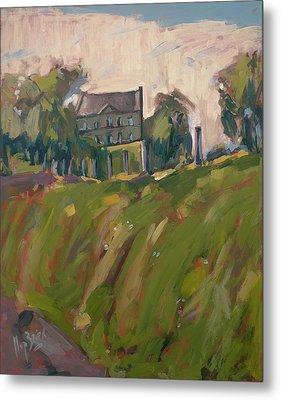 Farm Estate Zonneberg Metal Print by Nop Briex