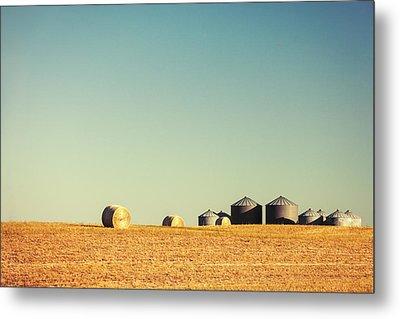 Farm Land Metal Print by Todd Klassy