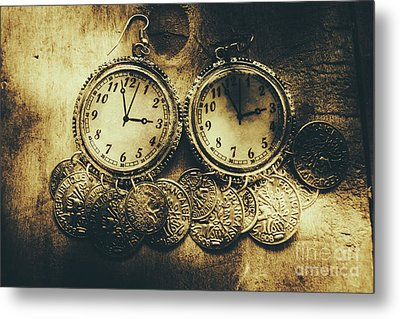 Fashioning The Time And Money Conundrum Metal Print by Jorgo Photography - Wall Art Gallery