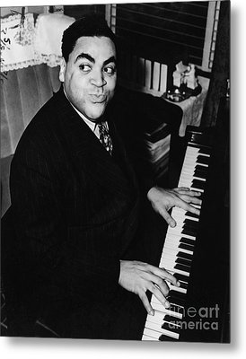 Fats Waller, American Composer Metal Print by Science Source