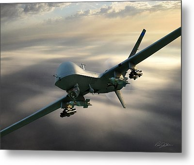 Fear The Reaper Metal Print by Peter Chilelli
