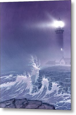Fearless - Psalm 27 Metal Print by Cliff Hawley