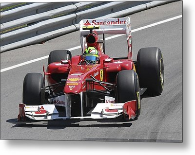 Felipe Massa Metal Print by Art Ferrier