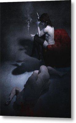 Femme Fatale Metal Print by Guillem H Pongiluppi