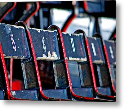 Fenway Metal Print by Donna Shahan