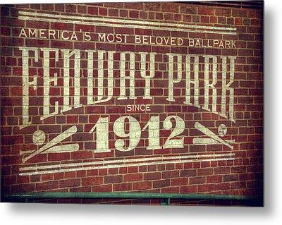 Fenway Park 1912 - Boston Red Sox Metal Print by Joann Vitali