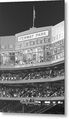 Fenway Park Metal Print by Lauri Novak