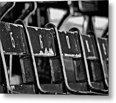 Fenway Too Metal Print by Donna Shahan