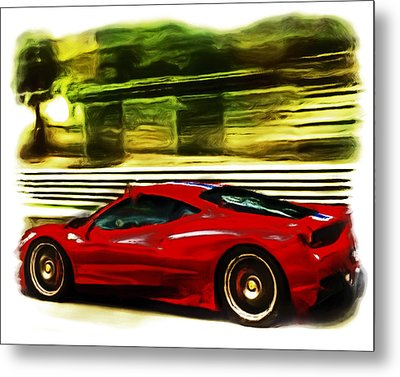Ferrari 13a Metal Print by Brian Reaves
