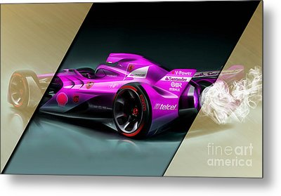 Ferrari F1 Collection Metal Print by Marvin Blaine