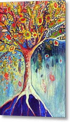Fiesta Tree Metal Print by Jennifer Lommers