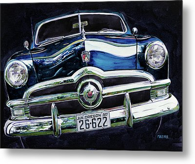 Fifty Ford Metal Print by Mike Hill