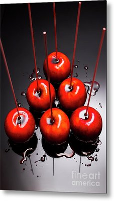 Fine Art Toffee Apple Dessert Metal Print by Jorgo Photography - Wall Art Gallery