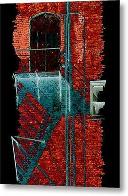 Fire Escape 7 Metal Print by Tim Allen