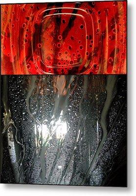 Fire Water Metal Print by Marlene Burns