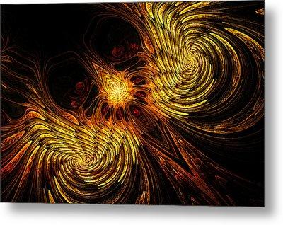 Firebird Metal Print by John Edwards