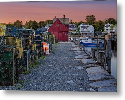 First Light At Motif Number One Metal Print by Susan Candelario