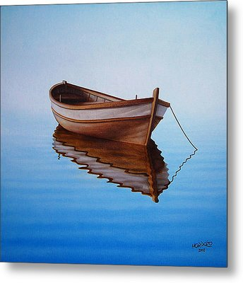 Fishing Boat I Metal Print by Horacio Cardozo