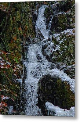 Fitzgerald Falls Is Along The Appalachian Trail 4 Metal Print by Raymond Salani III