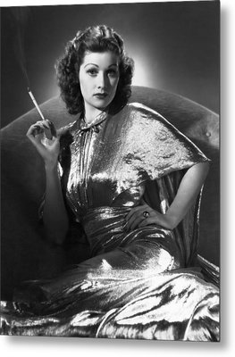 Five Came Back, Lucille Ball, 1939 Metal Print by Everett