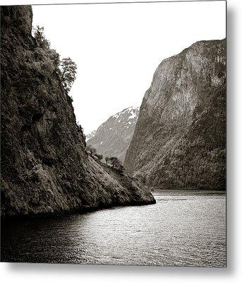 Fjord Beauty Metal Print by Dave Bowman