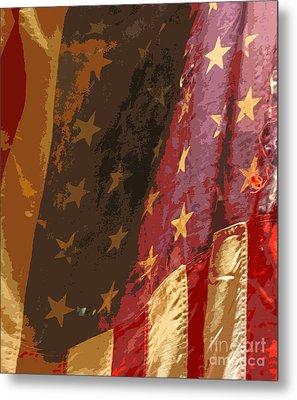 Flag 16 Metal Print by Gary Everson