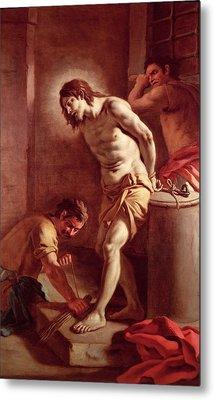 Flagellation Of Christ Metal Print by Pietro Bardellini