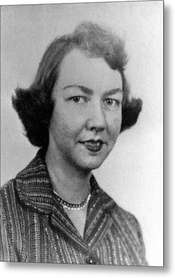 Flannery Oconnor, 1950s Metal Print by Everett