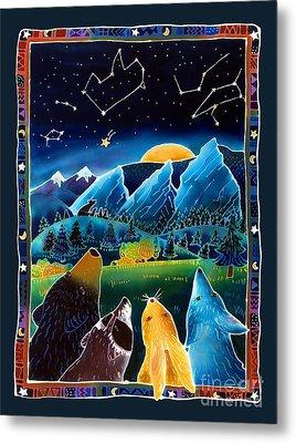 Flatirons Stargazing Metal Print by Harriet Peck Taylor