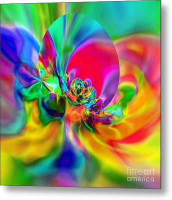 Flexibility 20ca Metal Print by Rolf Bertram