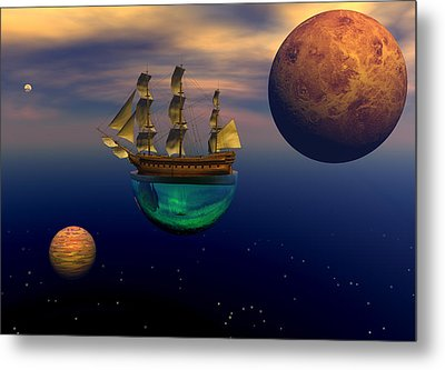 Floating On A Dream Metal Print by Claude McCoy