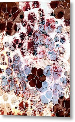 Floral Essence Metal Print by Frank Tschakert