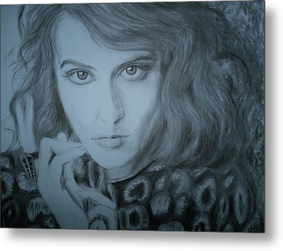 Florence Welch, Florence And The Machine Metal Print by Adrienne Martino