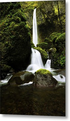 Flow Metal Print by Chad Dutson
