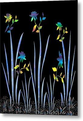 Flower Dance Metal Print by Kurt Van Wagner