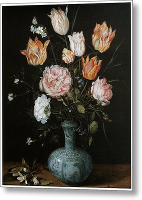 Flower Piece Metal Print by Jan Brueghel The Elder