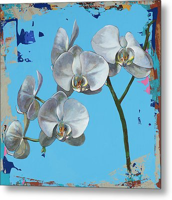 Flowers #15 Metal Print by David Palmer