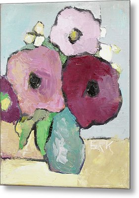 Flowers 1601 Metal Print by Becky Kim