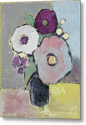 Flowers 1602 Metal Print by Becky Kim
