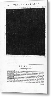 Fludds Dark Universe, 1617 Metal Print by Wellcome Images