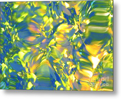 Fluttering Of Color Metal Print by Sybil Staples