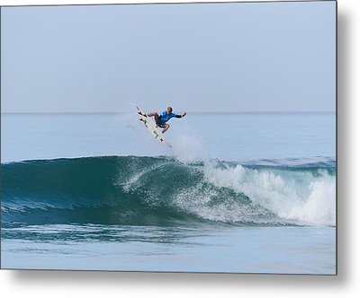 Metal Print featuring the photograph Flying In A Blue Dream II by Thierry Bouriat