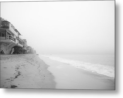 foggy Malibu Beach  Metal Print by Ralf Kaiser