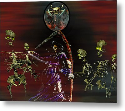 Follow Me Too.... Metal Print by Evelyn Patrick