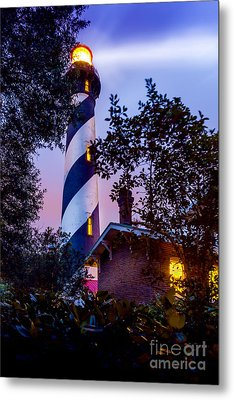 Follow The Light Metal Print by Marvin Spates