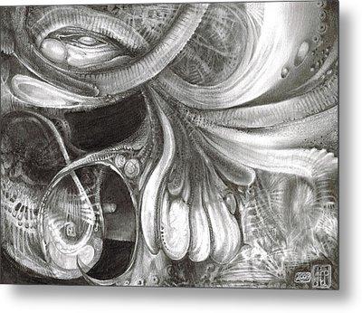 Fomorii Pod Metal Print by Otto Rapp