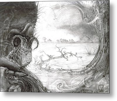Fomorii Swamp Metal Print by Otto Rapp