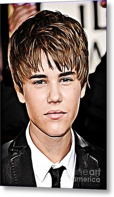 For The Belieber In You Metal Print by The DigArtisT