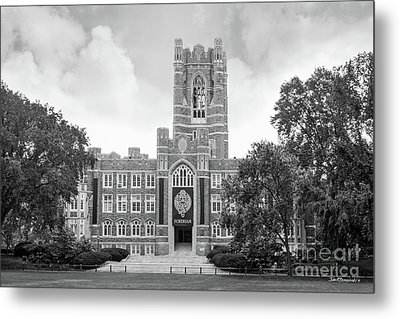 Fordham University Keating Hall Metal Print by University Icons